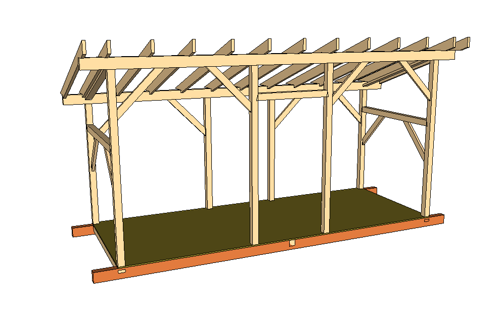 timber frame woodshed plans | lajulak org